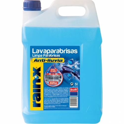 ¿ Que liquido usas para el limpiaparabrisas?